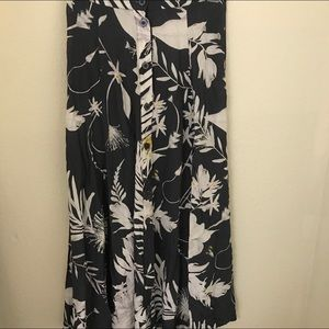 Floral Maxi/Midi Skirt
